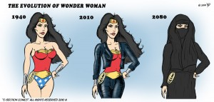The Evolution of Wonder Woman