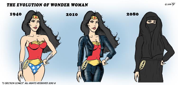wonder woman cartoon: